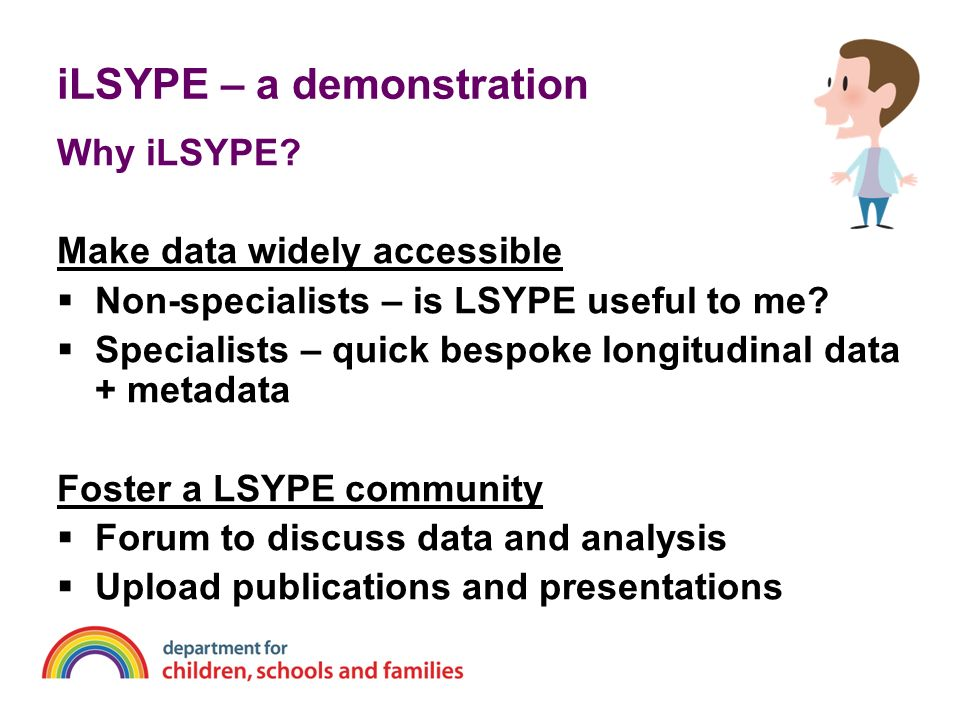 iLSYPE – a demonstration Why iLSYPE.