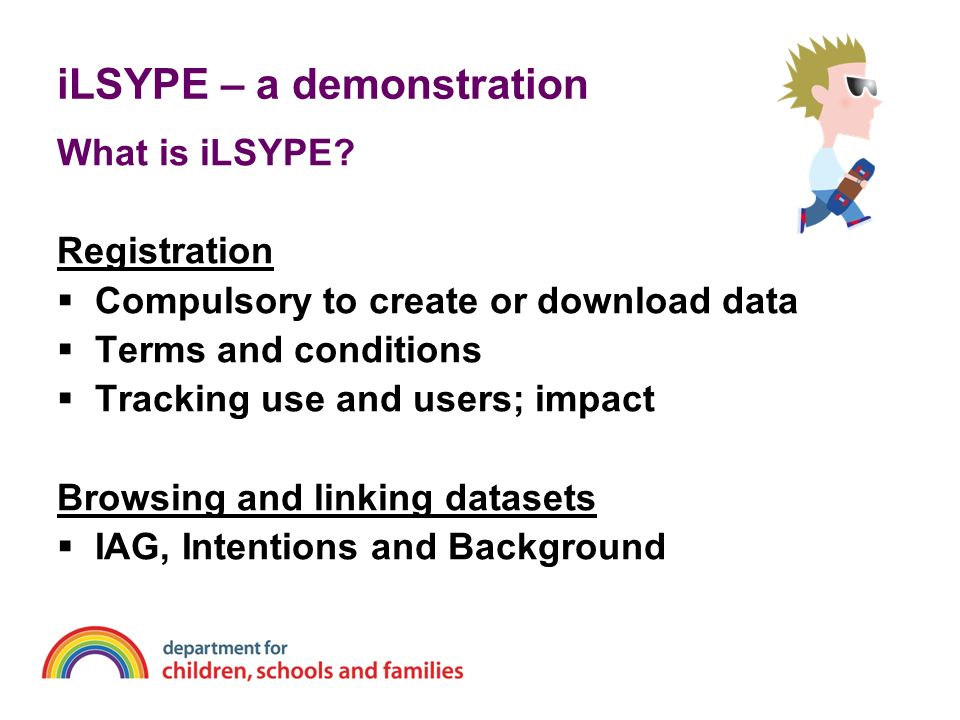 iLSYPE – a demonstration What is iLSYPE.
