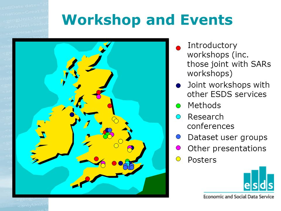 Workshop and Events Introductory workshops (inc.