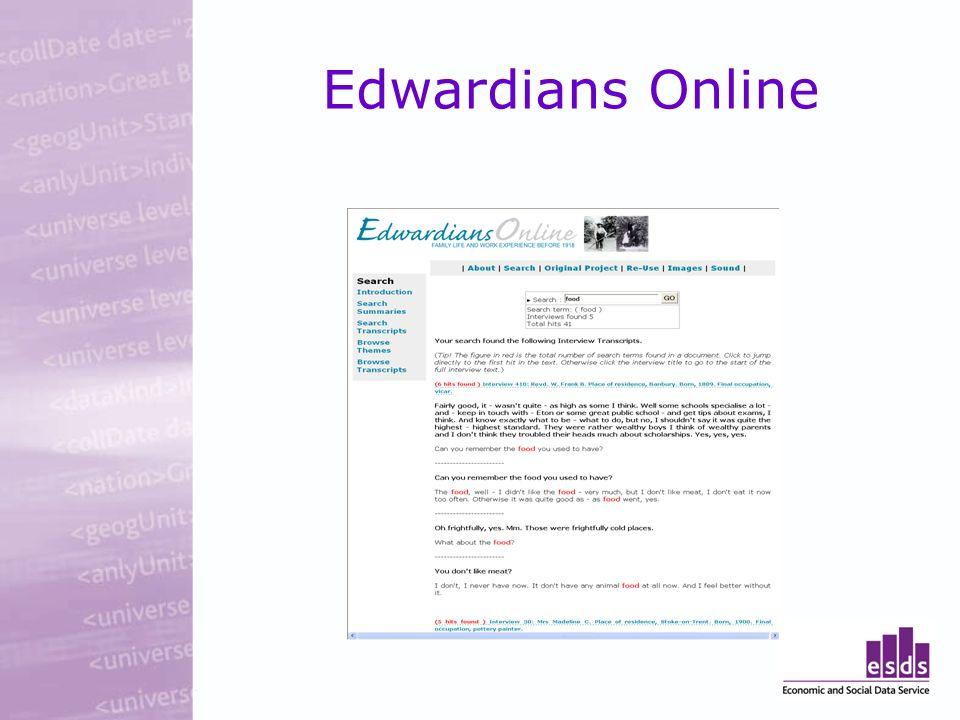 Edwardians Online