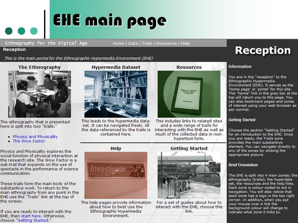 EHE main page