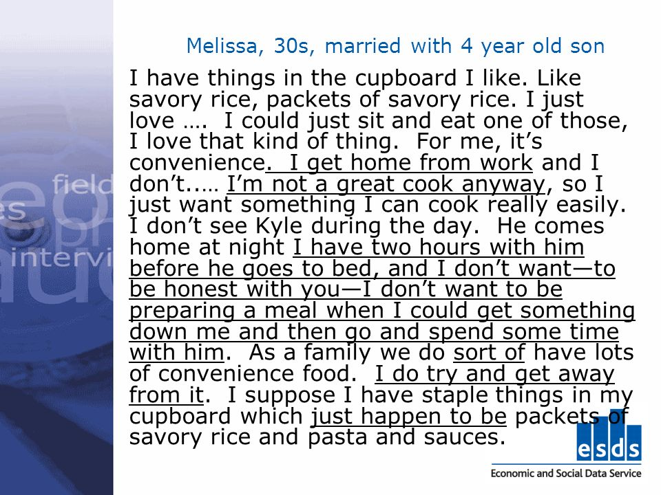 Melissa, 30s, married with 4 year old son I have things in the cupboard I like.