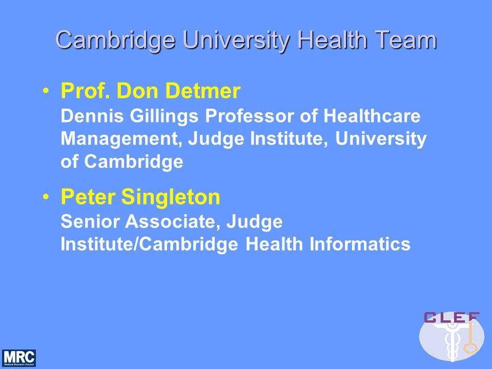 Cambridge University Health Team Prof.