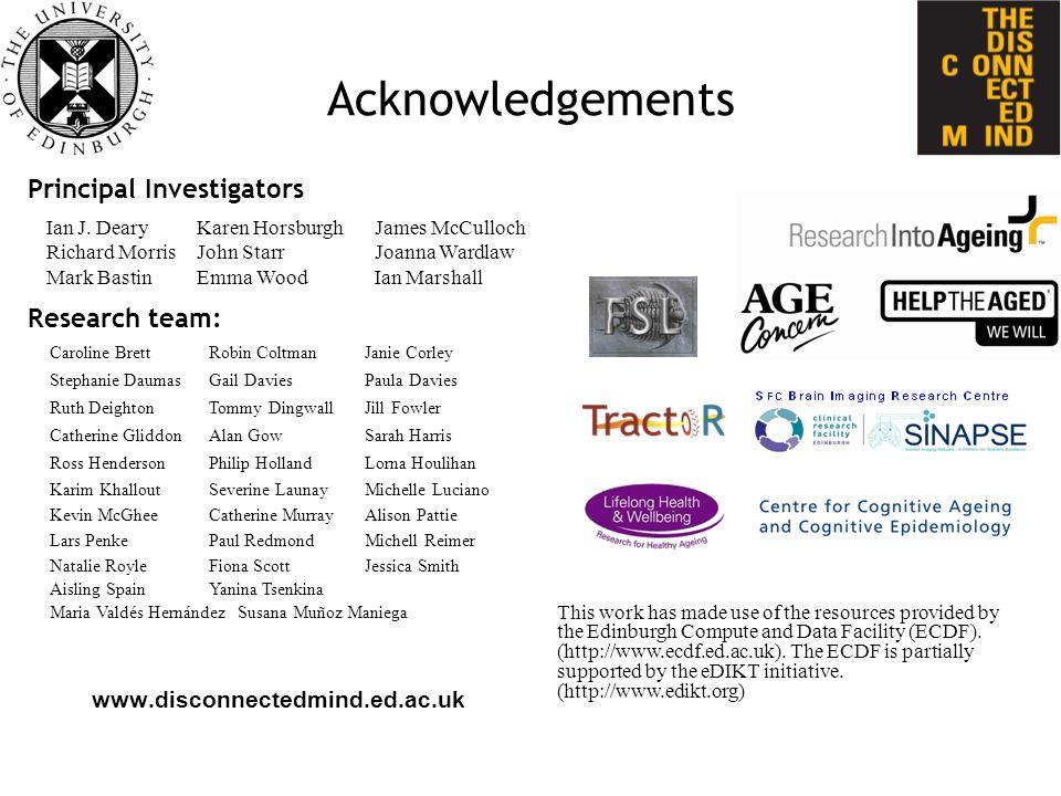 Acknowledgements   This work has made use of the resources provided by the Edinburgh Compute and Data Facility (ECDF).