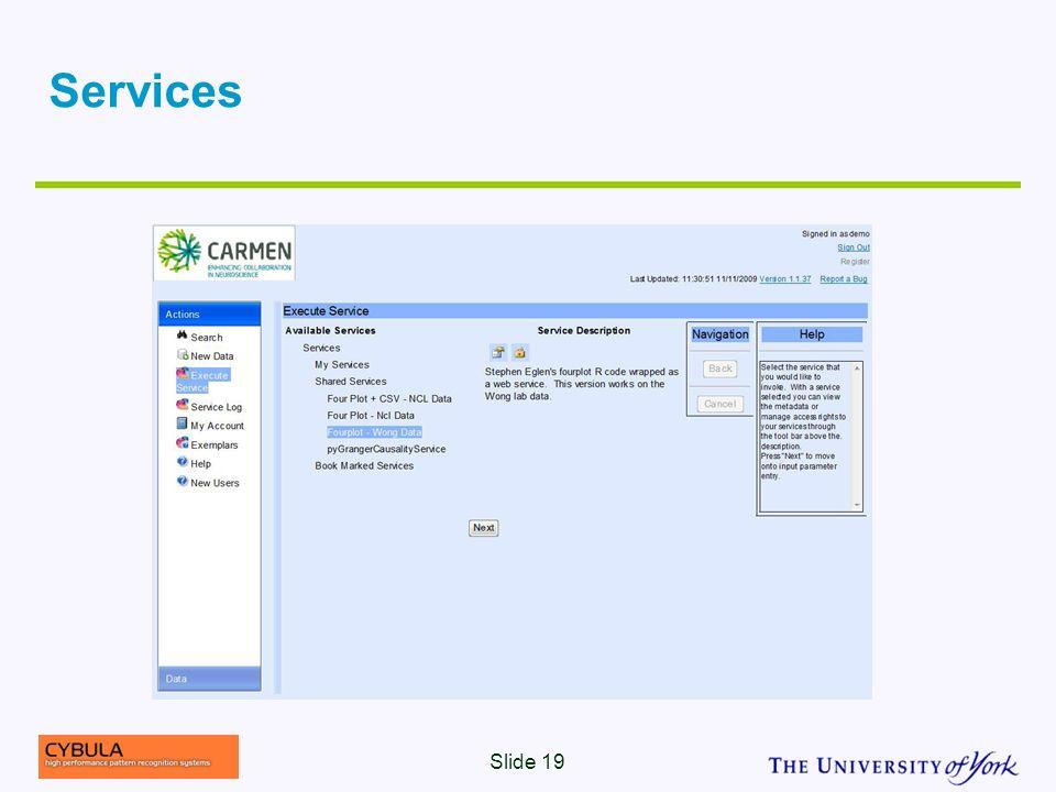 Services Slide 19