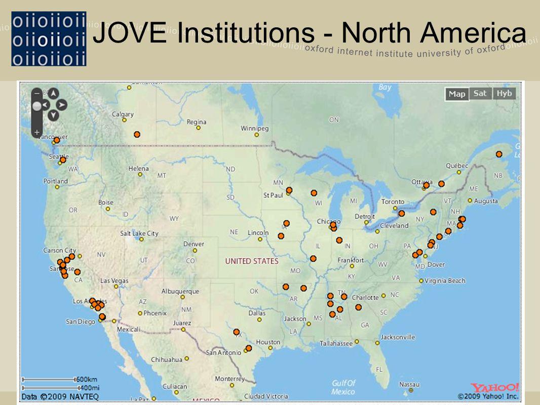 JOVE Institutions - North America