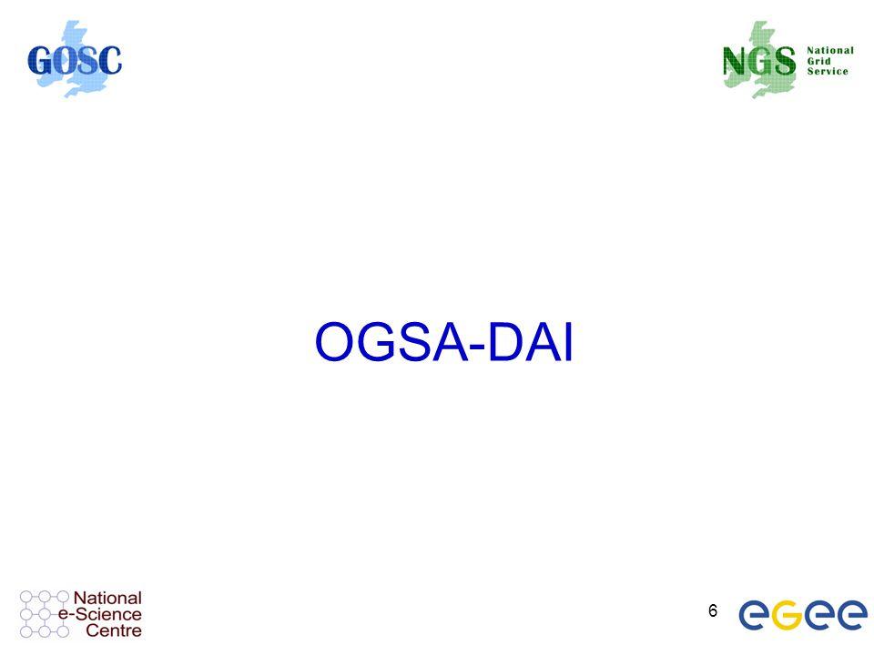 6 OGSA-DAI
