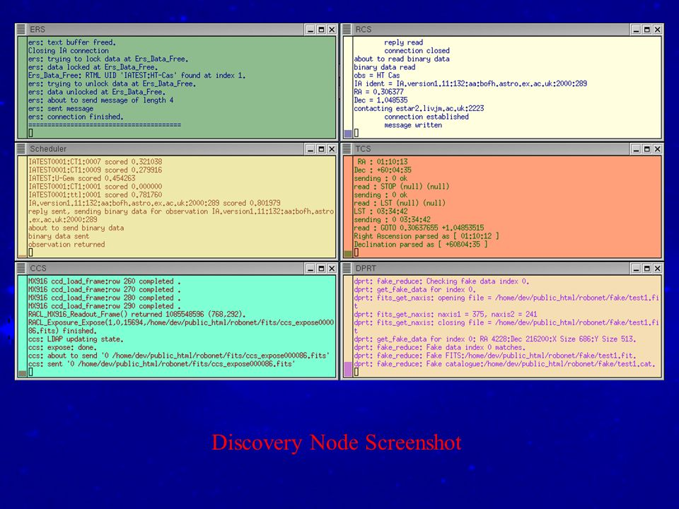 Discovery Node Screenshot