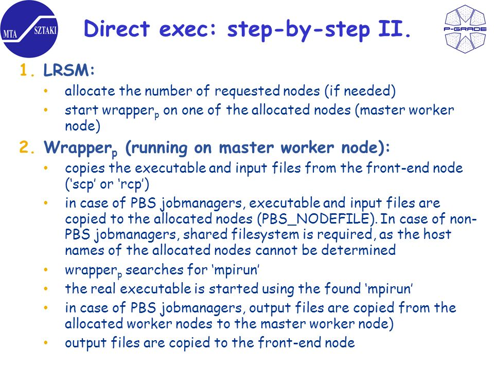Direct exec: step-by-step II.