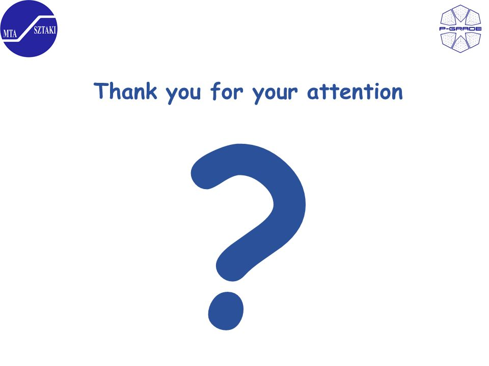 Thank you for your attention ?