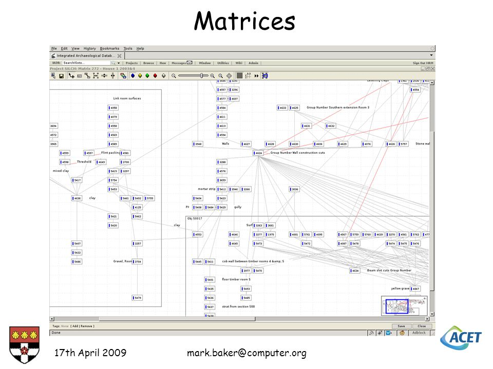 Matrices 17th April 2009mark.baker@computer.org