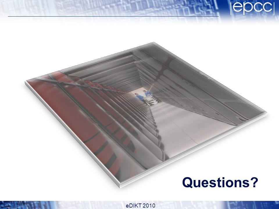 Questions eDIKT 2010