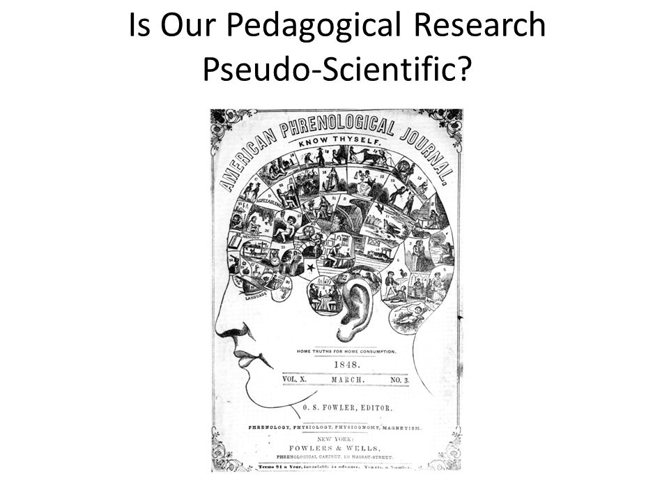 Is Our Pedagogical Research Pseudo-Scientific