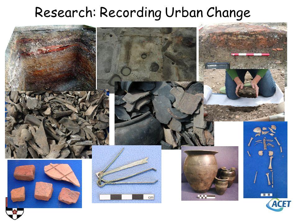 Research: Recording Urban Change