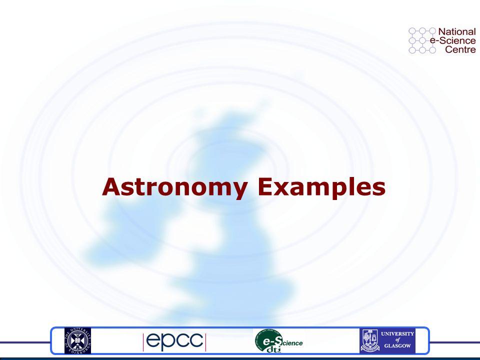 Astronomy Examples