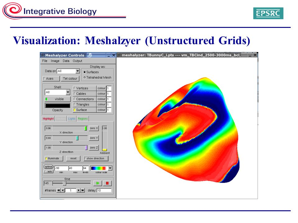 Visualization: Meshalzyer (Unstructured Grids)