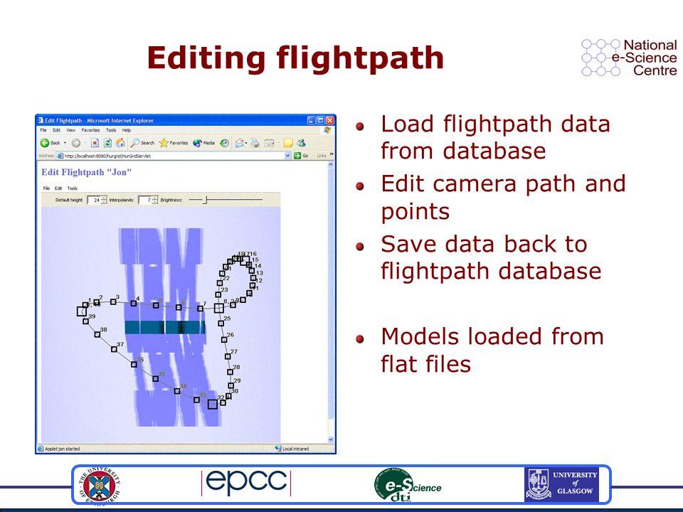 Rendering scenes Dispatch scenes to rendernodes Progress notification allows tracking of each scenes status