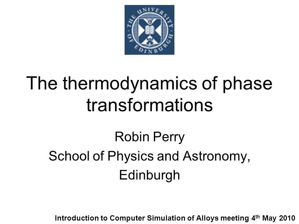 1.Preamble: phase diagrams of metal alloys