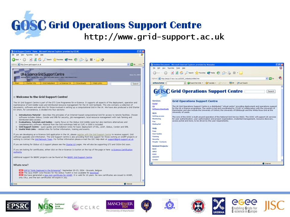 http://www.grid-support.ac.uk
