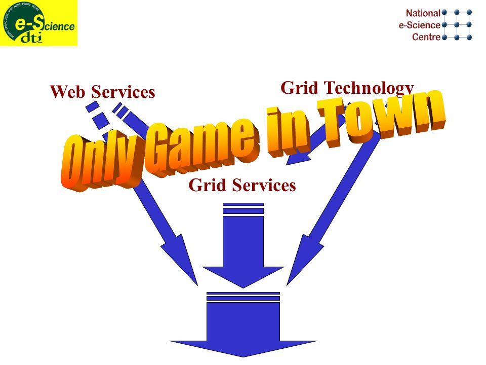 Web Services Grid Technology Grid Services