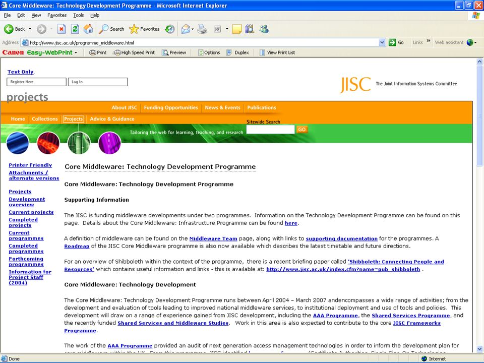 Security & Access Management Workshop – Edinburgh – 20 Oct 2005 Further Information JISC web pages – http://www.jisc.ac.uk/programme_middleware.html http://www.jisc.ac.uk/programme_middleware.html Internet2 http://shibboleth.internet2.edu http://shibboleth.internet2.edu MATU http://www.matu.ac.uk http://www.matu.ac.uk JISCmail lists: JISC-Shibboleth JISC-Shibboleth-Announce Terry Morrow JISC Consultant t.morrow@jisc.ac.uk