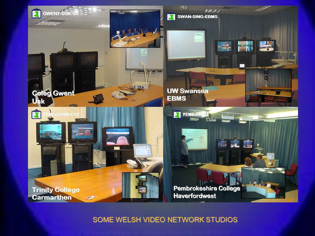 SOME WELSH VIDEO NETWORK STUDIOS