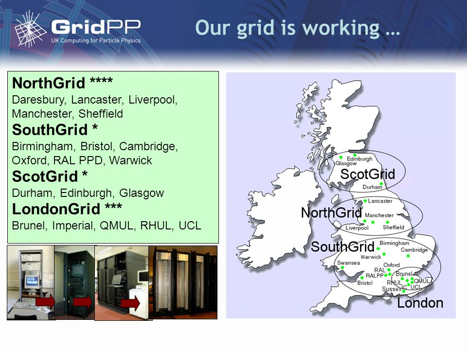 R-GMA Developed by GridPP within both EDG and now EGEE.