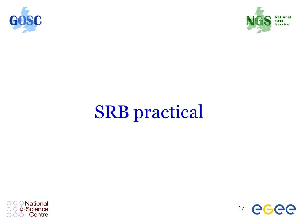 17 SRB practical