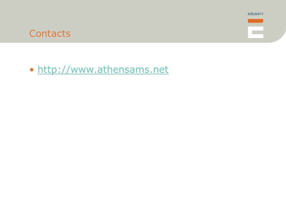 Contacts http://www.athensams.net