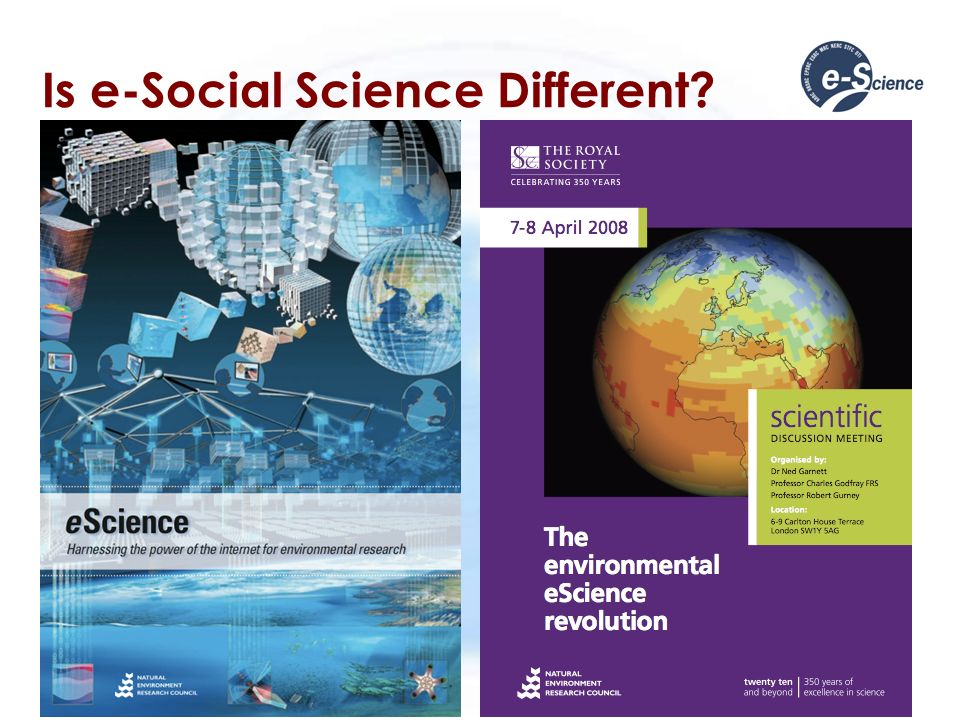 Is e-Social Science Different