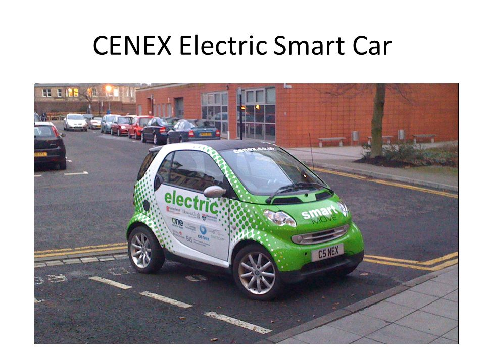 CENEX Electric Smart Car