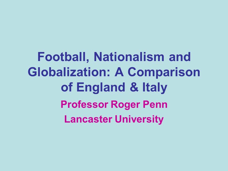 Appendix: Recent Publications on the Sociology of Football II Sport e sviluppo economico locale : I esperienza del calcio inglese in Tempi e Spazi dello Sport: Italia – Inghilterra Modelli a Confronto (2006) Bortoletto, N.