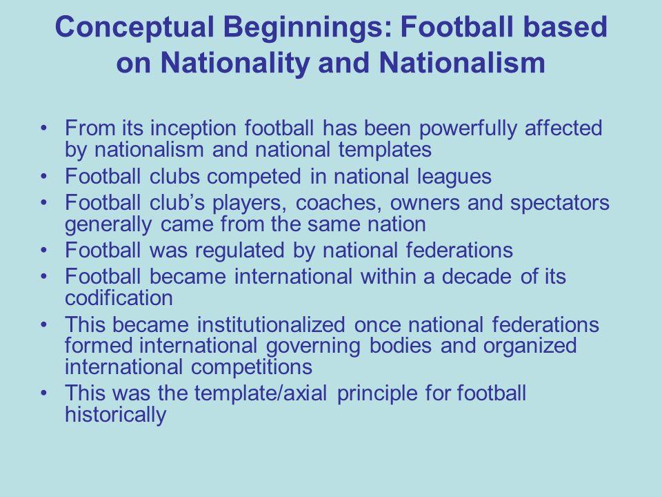 Juventus: Nationality of Players 1989 & 2010