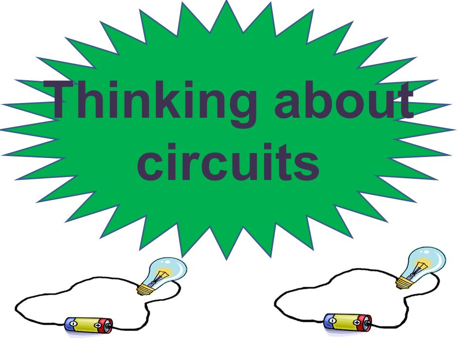 Thinking about circuits