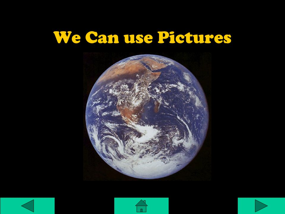 We Can use Pictures