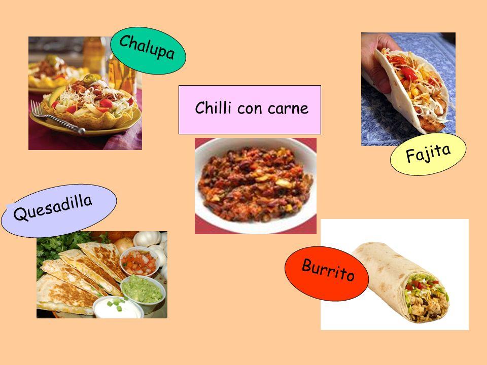 Chalupa Chilli con carne Quesadilla Fajita Burrito