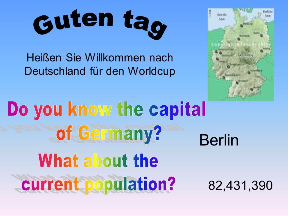 Heißen Sie Willkommen nach Deutschland für den Worldcup Berlin 82,431,390