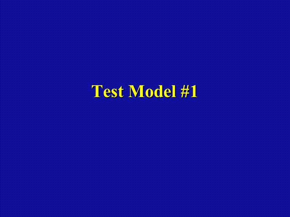 Test Model #1