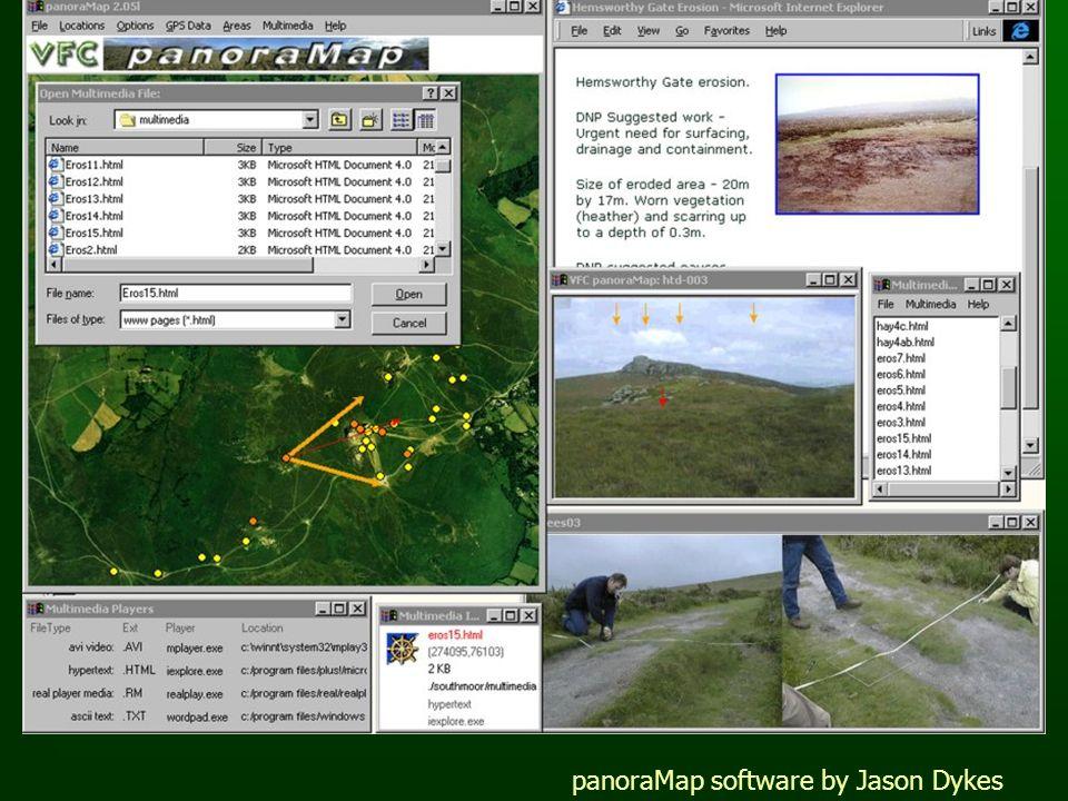 panoraMap software by Jason Dykes