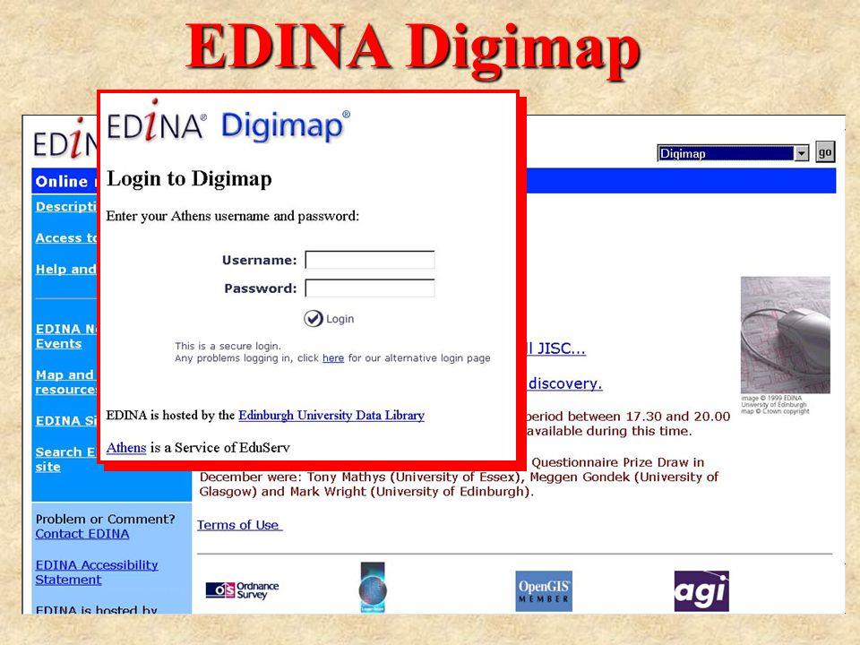 EDINA Digimap