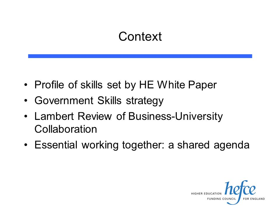 Knowledge Exchanges Exemplars of good practice in knowledge transfer and skills development First 8 in 2004-05 Links with NTIs; collaboration with HE/FE Partnering with e.g.