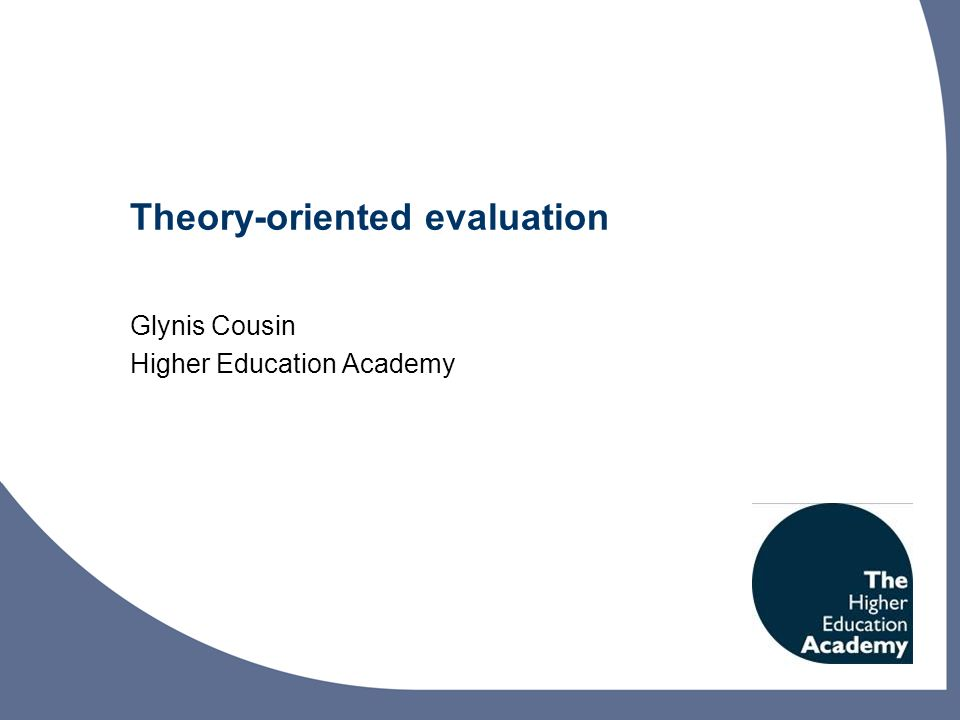 What are your experiences of the purposes of evaluation?