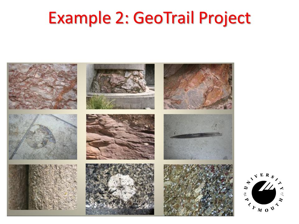 Example 2: GeoTrail Project