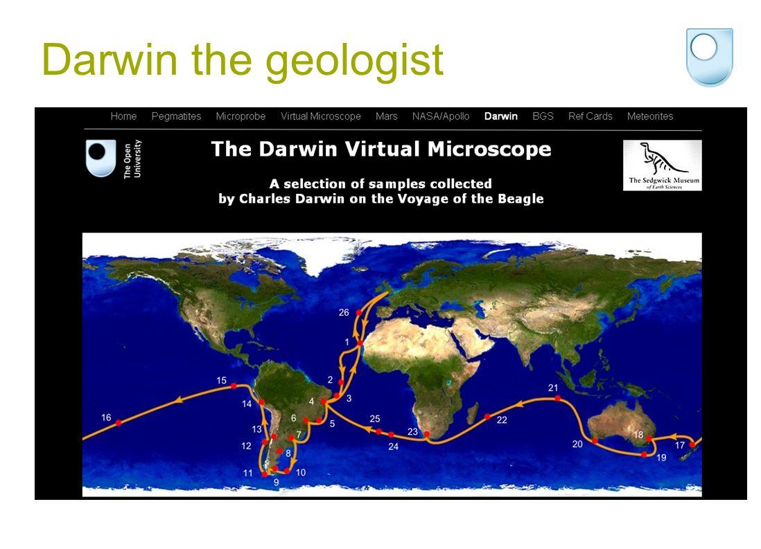 Darwin the geologist
