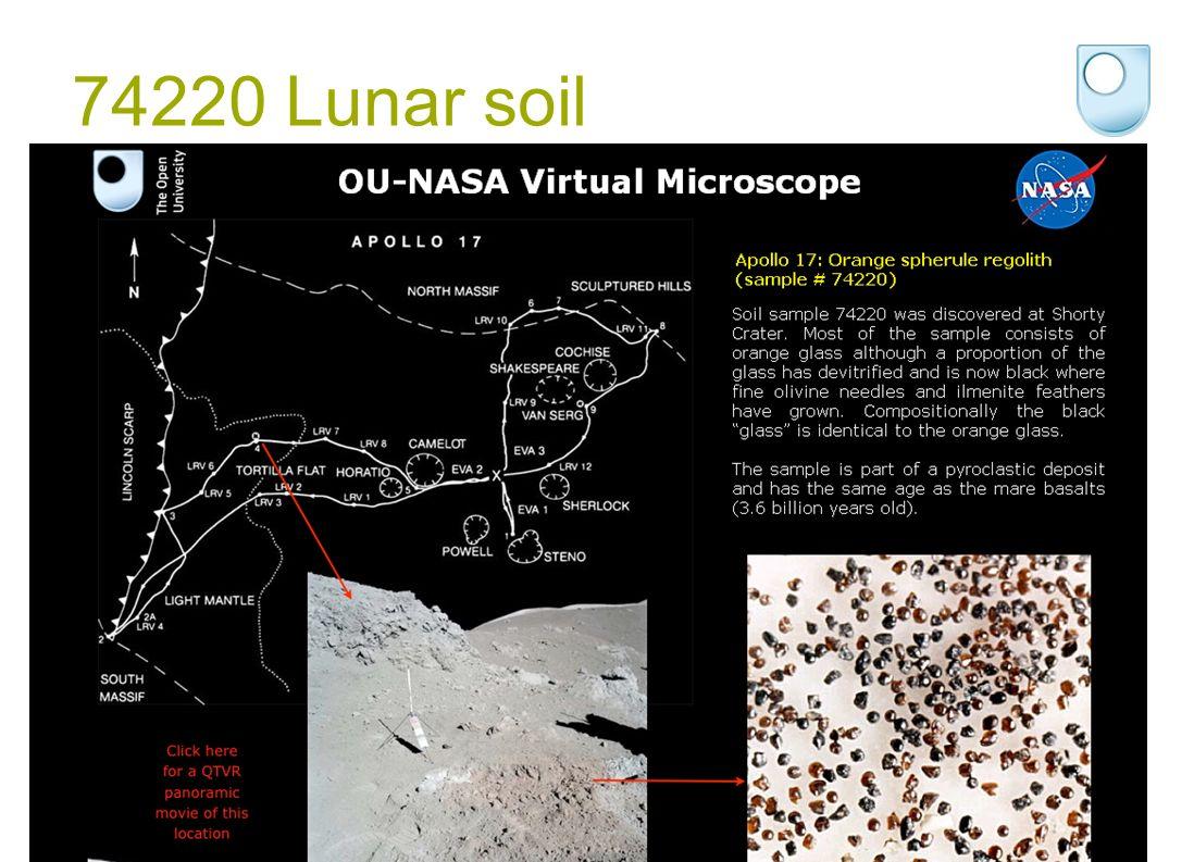 74220 Lunar soil