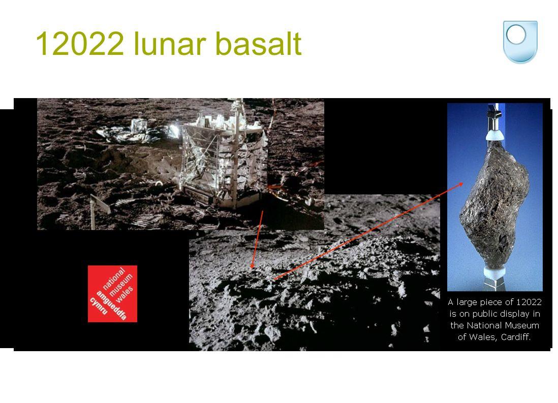 12022 lunar basalt
