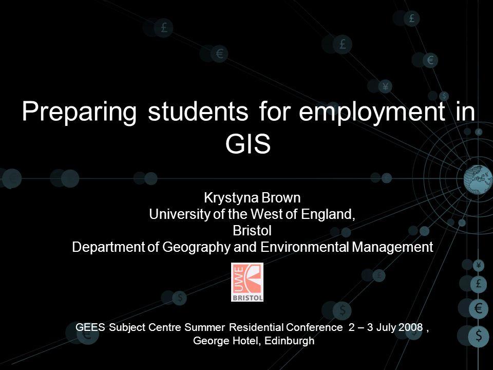 22 GIS software .