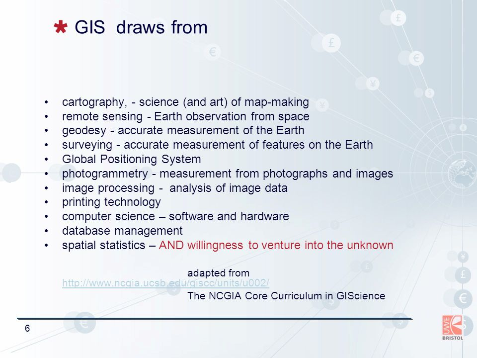 17 Examples of applications Geographic information (GI) is at the heart of every organisation.