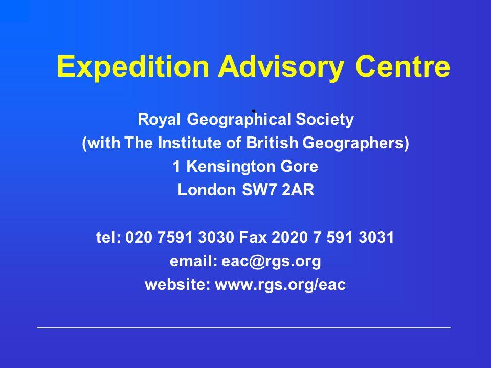 Expedition Advisory Centre.