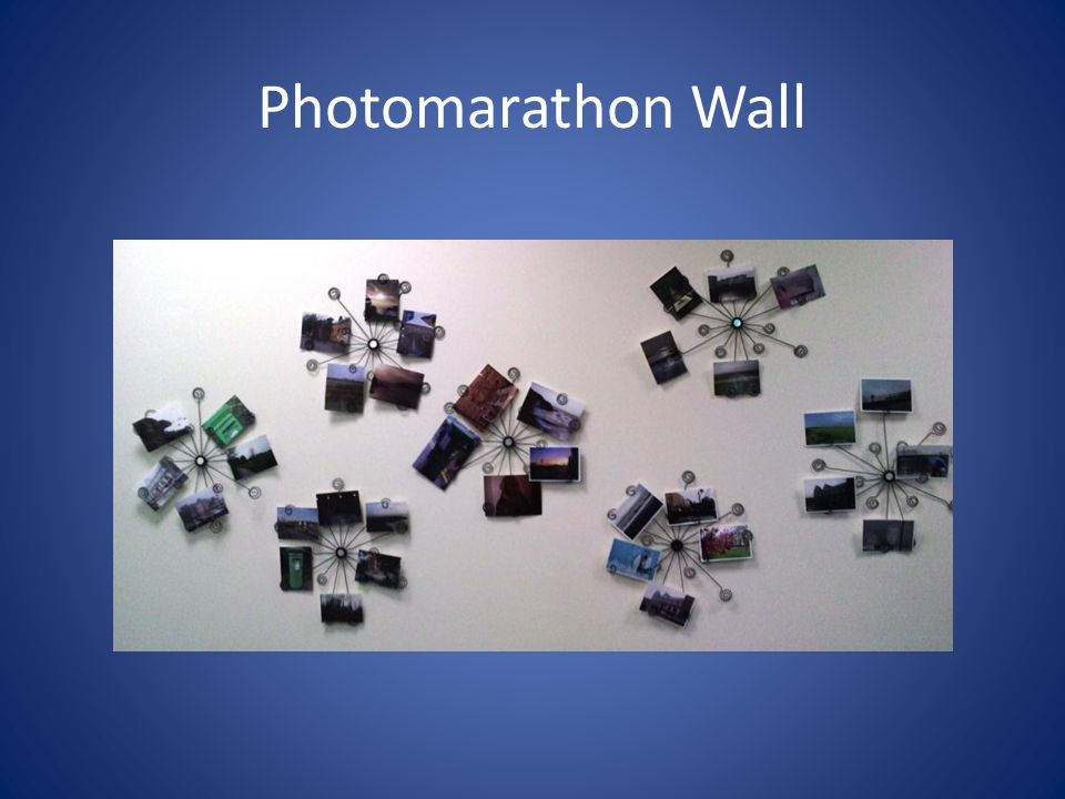 Photomarathon Wall